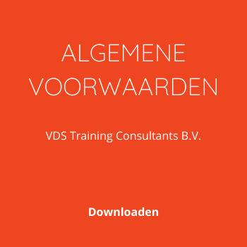 Algemene Voorwaarden VDS Training Consultants