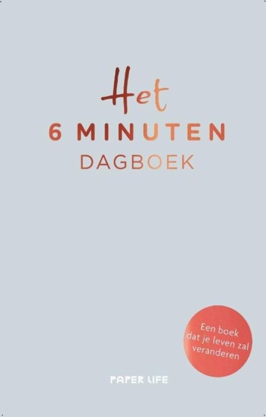 Vds aanrader het 6 minuten dagboek